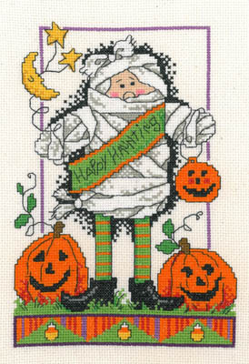 Imaginating - Happy Haunter - Cross Stitch Pattern