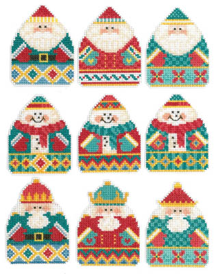 Imaginating - Holiday Ornaments - Cross Stitch Pattern