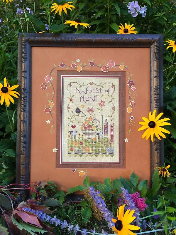 Shepherd's Bush - Harvest of Plenty - Cross Stitch Kit