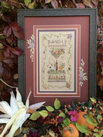 Shepherd's Bush - Thankful Be Kit-Shepherds Bush - Thankful Be Kit, Thanksgiving, fall, gratitude, cross stitch