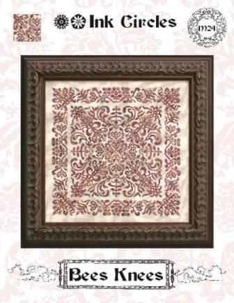 Ink Circles - Bee Knees - Cross Stitch Pattern