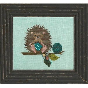 Just Another Button Company - Woodland Whimsy Series #2 - Woodland Hedgehog - Cross Stitch Pattern