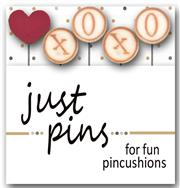 Just Another Button Company - Seasonal Sliders on Ice - Snow Kisses Slider Pins