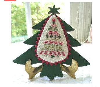 JBW Designs - Folk Art Christmas Tree-JBW Designs - Folk Art Christmas Tree, Christmas ornament, Christmas decorations, cross stitch, frame,