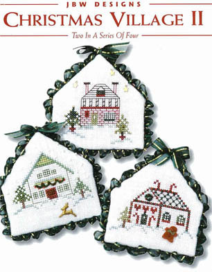 JBW Designs - Christmas Village II - Cross Stitch Patterns