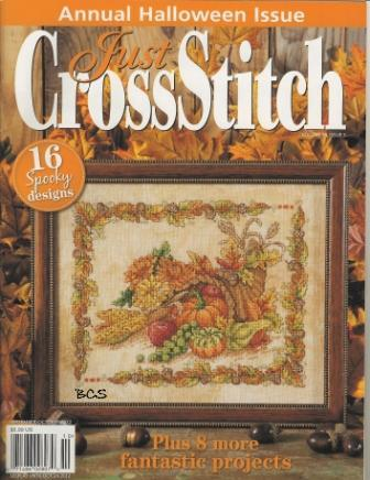 Just Cross Stitch - Annual Halloween Magazine 2012