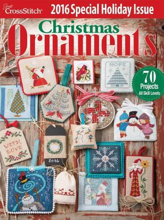 Just Cross Stitch - 2016 Annual Christmas Ornament Special Issue-Just Cross Stitch - 2016 Annual Christmas Ornament Special Issue