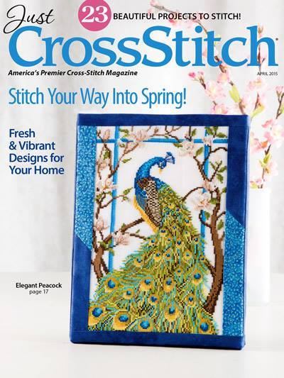 Just Cross Stitch - 2015 #2 Issue March/April - Cross Stitch Magazine