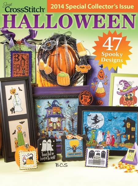 Just Cross Stitch - 2014 Halloween Special Collector's Issue
