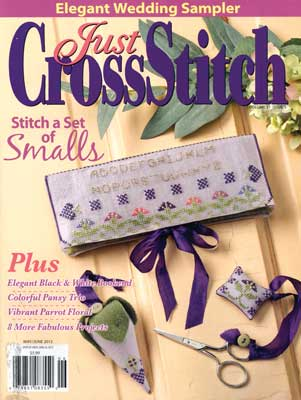 Just Cross Stitch - 2013 #3 Issue May/June - Cross Stitch Magazine