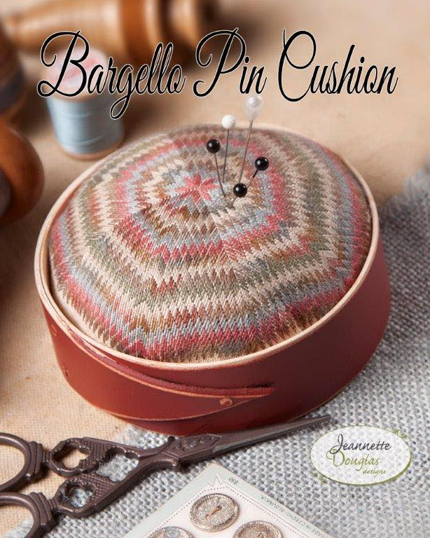 Jeannette Douglas Designs - Bargello Pincushion