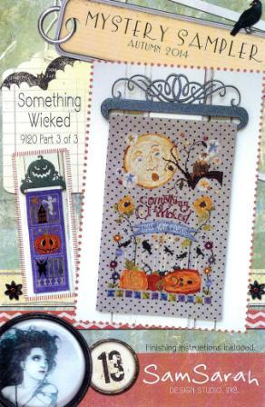 SamSarah Design Studio - Something Wicked - Mystery Sampler - Part 3