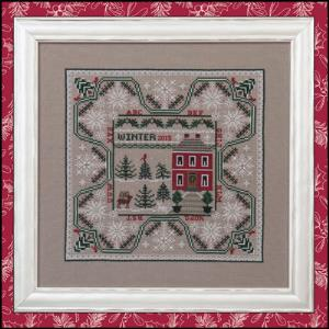 Just Nan - Winter in the Forest - Cross Stitch Pattern