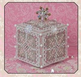 Just Nan - Pink Ice Cube & Embellishments Limited Winter Edition