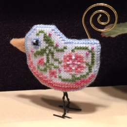 Just Nan - 2015 Ornament Shop - Bluebird Tweet Limited Edition Ornament
