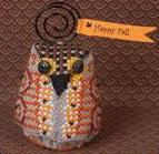 Just Nan - Oakley Owlet - Limited Edition Ornament Pinkeep
