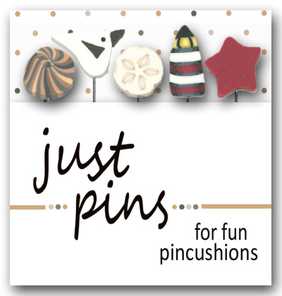Just Another Button Company - Just Pins - Seaside-Just Another Button Company - Just Pins - Seaside, lighthouse, seashell, starfish, seagull, clay pins,