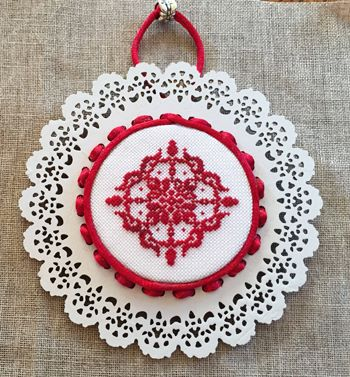 Keslyn's - Laser Lace Ornaments