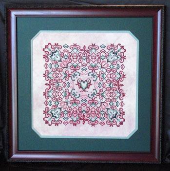 Keslyn's - Sherry's Hearts - Cross Stitch Pattern