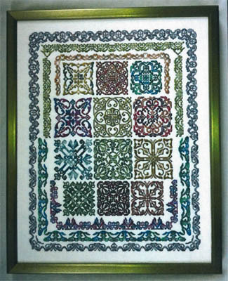 Keslyn's - Just Valdani - Cross Stitch Chart