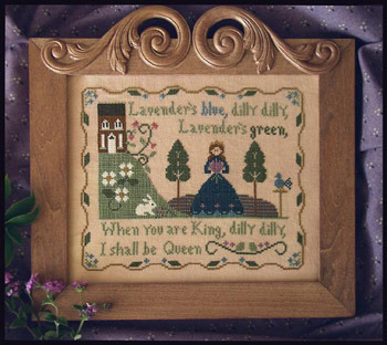 Little House Needleworks - Lavender's Blue