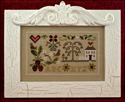 Little House Needleworks - Summer Splendor - Cross Stitch Pattern