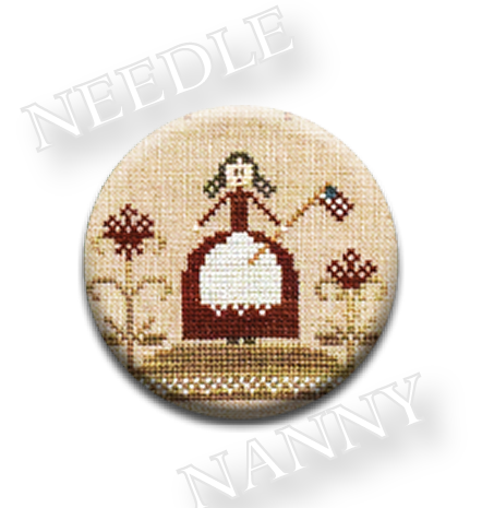 Stitch Dots - For Freedom Needle Nanny by Little House Needleworks