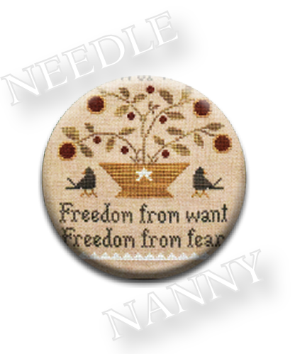 Stitch Dots - Freedom From Needle Nanny by Little House Needleworks-Stitch Dots - Freedom From Needle Nanny by Little House Needleworks