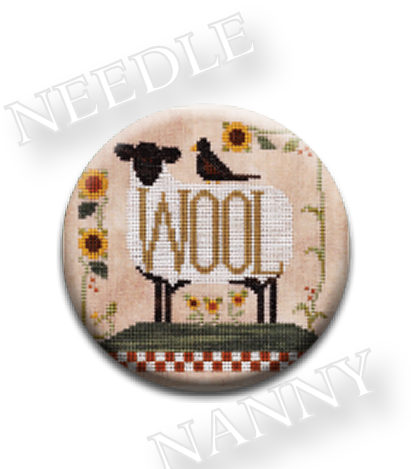 Stitch Dots - Louise and Henry Needle Nanny by Little House Needleworks-Stitch Dots - Louise and Henry Needle Nanny by Little House Needleworks