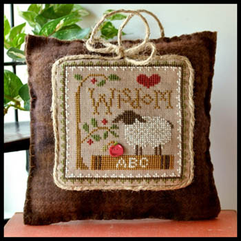 Little House Needleworks - Little Sheep Virtues - Part 08 of 12 - Wisdom - Cross Stitch Pattern