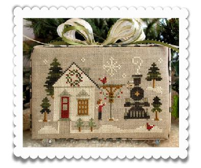 Little House Needleworks - Hometown Holiday - Part 2 - Main Street Station - Cross Stitch Pattern