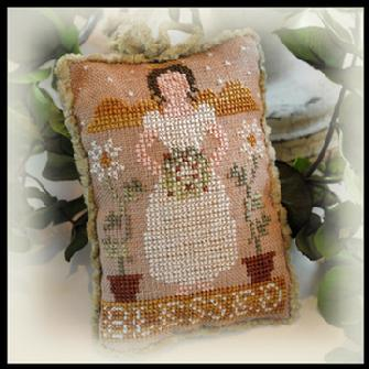 Little House Needleworks - Ornament of the Month 2012 - No. 01 - Blessed - Cross Stitch Pattern