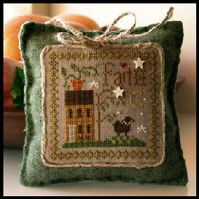 Little House Needleworks - Little Sheep Virtues - Part 05 of 12 - Faith - Cross Stitch Pattern