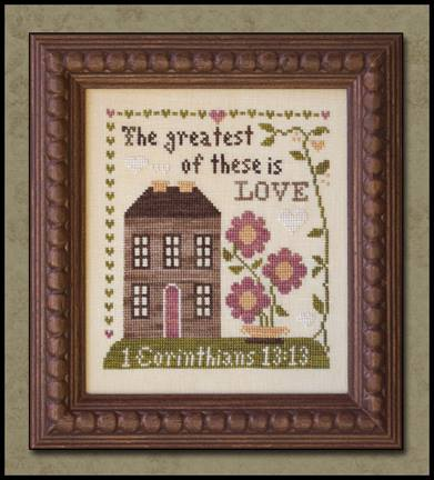 Little House Needleworks - First Corinthians - Cross Stitch Pattern