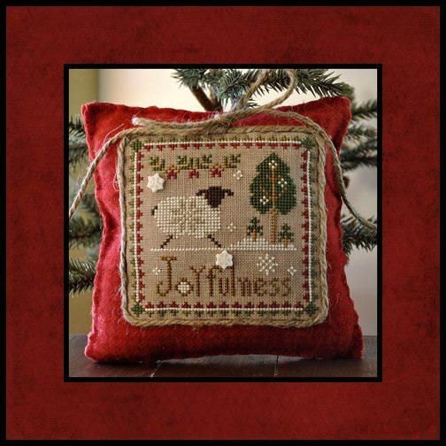 Little House Needleworks - Little Sheep Virtues - Part 12 of 12 - Joyfulness - Cross Stitch Pattern