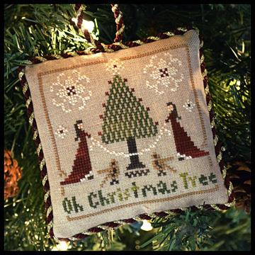 Little House Needleworks - The Sampler Tree - Part 2 of 12 - Oh Christmas Tree - Cross Stitch Pattern