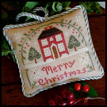 Little House Needleworks - The Sampler Tree - Part 10 of 12 - Merry Christmas