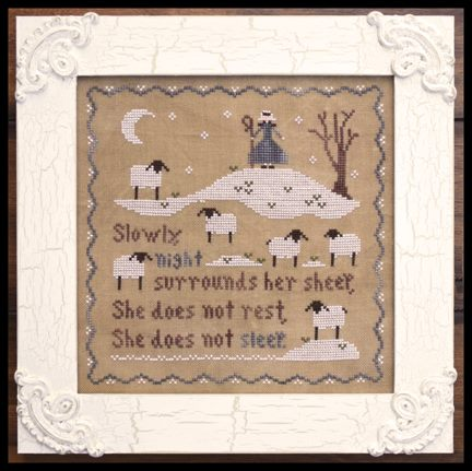 Little House Needleworks - Jubilee's Sheep - Cross Stitch Pattern