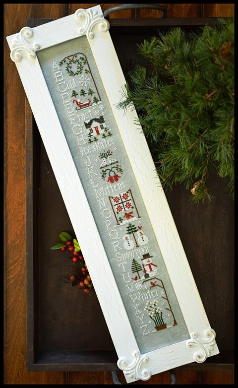 Little House Needleworks - Winter ABC's-Little House Needleworks - Winter ABCs, snow, Christmas,