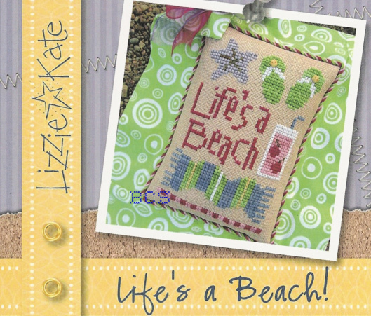 "Lizzie Kate - Life""s a Beach - Cross Stitch Kit"