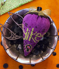 Erica Michaels Needleart Designs - Linen Berry Collection - Yikesberry