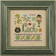 Lizzie Kate - A Little Luck - Cross Stitch Kit
