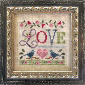 Lizzie Kate - A Little Love - Cross Stitch Kit