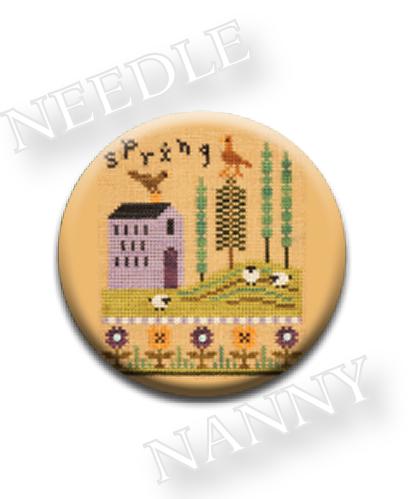 Stitch Dots - Spring Needle Nanny by Lizzie Kate