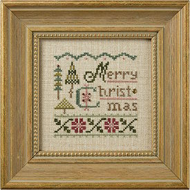 Lizzie Kate - A Little Christmas - Cross Stitch Kit