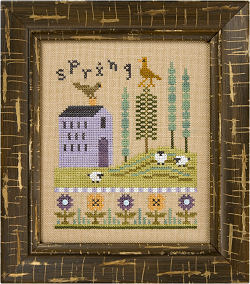 Lizzie Kate - 4 Seasons Flip-It - Spring & Summer - Cross Stitch Patterns
