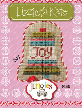 Lizzie Kate - Jingles - Part 11 of 12 - Joy - Cross Stitch Pattern-Lizzie Kate, Jingles, Part 011 of 12, Joy, ornament, Christmas, Cross Stitch Pattern