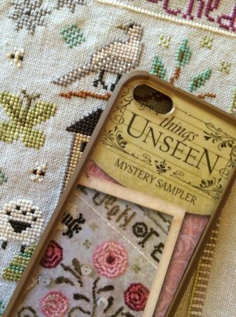 Lizzie Kate - Things Unseen Mystery Sampler - Part 3 - Cross Stitch Pattern