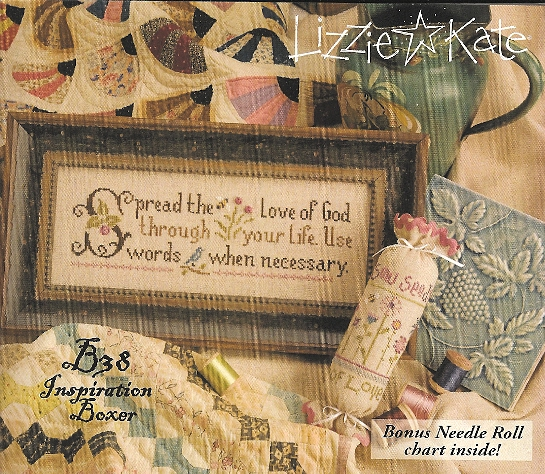 Lizzie Kate - Inspiration Boxer - Spread the Love - Cross Stitch Kit