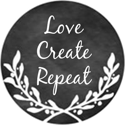 Whimsical Edge Designs - Love Create Repeat Needle Minder